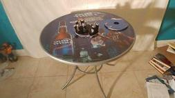 Brand new Bud Light bucket table with center removable bucke