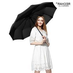 RECHAR Brand Quality Windproof 105cm Umbrella Rain Woman Man
