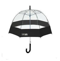 Black Aspen Bubble Umbrella – Large  52 Inch Dome Canopy,
