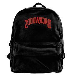 Oyangqu Canvas Laptop Backpack, Waterproof School Backpack f
