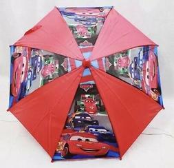 Disney Cars Red Lighting McQueen Boys Umbrella