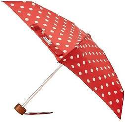 Cath Kidston Button Spot Berry Red Tiny Folding Umbrella & C