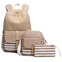 Abshoo Causal Travel Canvas Rucksack Backpacks for Girls Sch