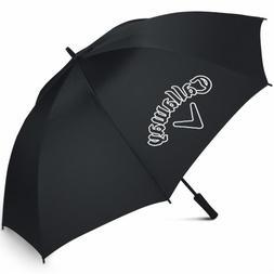"""Callaway CG Logo 60 SGL Man Open Umbrella, Black, 60"""""""