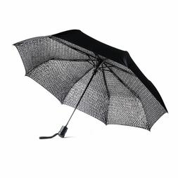 The Met Chain Mail Pattern Travel Umbrella