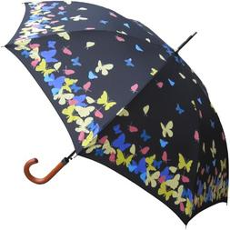 """46"""" Color Changing Butterfly, Auto Umbrella - RainStoppers R"""