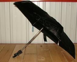 Cirra by ShedRain Auto Open/Close Compact Umbrella - Black *
