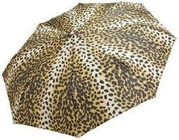 Totes Classics 4 Section Auto Open Close Compact Umbrella
