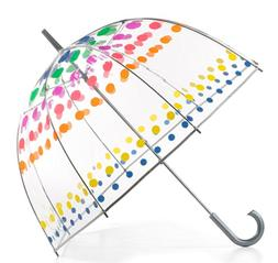 02236N53 Totes Kids Clear Bubble Umbrella with Easy Grip Handle