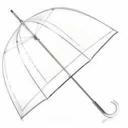 Clear Rain Umbrella Transparent Fashion Dome 51 Inch Canopy