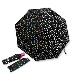 Color Changing Umbrella with Cute Polka Dots Automatic Open