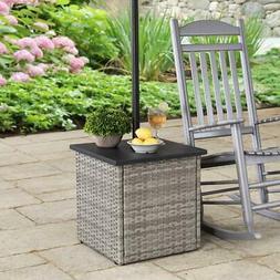 Sunjoy Combination Umbrella Stand Side Table