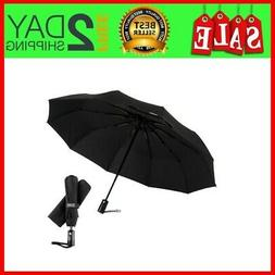 Third Floor Umbrellas Compact 46 Inch Automatic Open and Clo