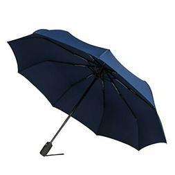 Bagail Compact Auto Open/Close Travel Umbrella Windproof Umb