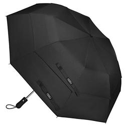 G4Free Compact Folding Golf Umbrella Extra Large 58-inch Dou