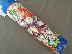 Brighton Compact Folding Umbrella Enchanted Garden Floral C