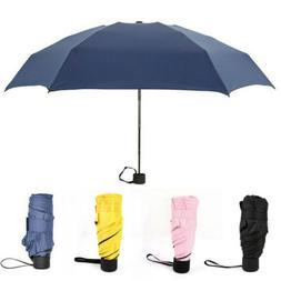 Compact Folding Umbrella Super Vented Windproof Brolly Stron