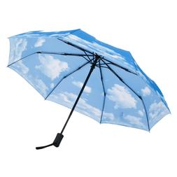 Compact Travel Umbrella Windproof Auto Open Close Light Weig