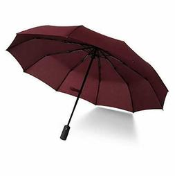 Loazre Compact Travel Umbrella/Windproof Double Canopy Const