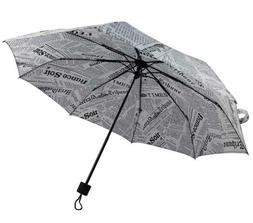 Compact Travel Windproof Umbrella Fashion Rain Sun UV Umbrel