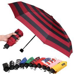 BAGAIL Compact Umbrella Quality Windproof Travel Umbrella Li