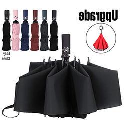 compact umbrella windproof auto open