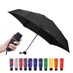 Ke.movan Travel Compact Umbrella Windproof Mini Sun & Rain U