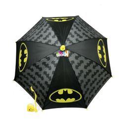 DC Comics Little Boys Batman Character Rainwear Umbrella, Bl