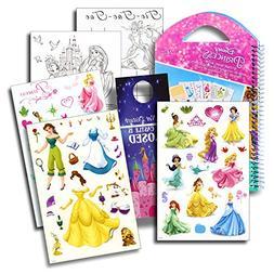 Disney Princess Stickers Travel Activity Set with Stickers,
