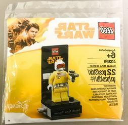 LEGO DISNEY STAR WARS MINIFIGURE HAN SOLO KESSEL MINE WORKER