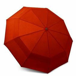 EEZ-Y Double Canopy Wind Resistant Travel Umbrella - Auto Op
