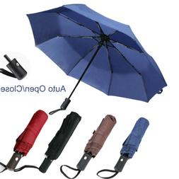 Durable Auto-Open/Close Umbrella Automatic Travel  Compact F