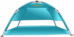 Beach Umbrella Tent Hub UV50+ Sun Shade Shelter Camping Hiki