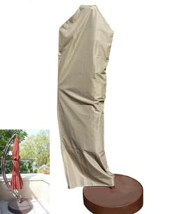 Premium Tight Weave Outdoor Patio Umbrella Cover - Heavy Dut