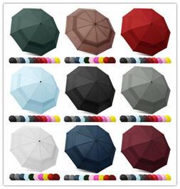 EEZ-Y, Compact Travel Umbrella, Windproof Double Canopy Cons