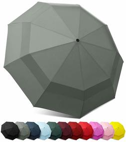 EEZ-Y Compact Travel Umbrella with Auto Open and Close Butto