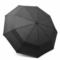 EEZ-Y Compact Travel Umbrella with Windproof Double Canopy C