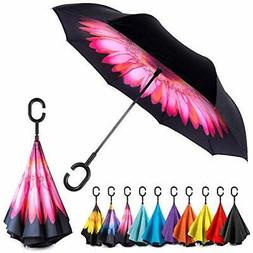EEZ-Y Inverted Umbrella with Windproof Double Layer Construc