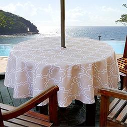 ColorBird Elegant Moroccan Outdoor Tablecloth Waterproof Spi