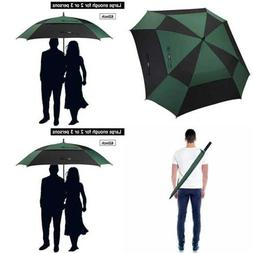 G4free Extra LARGE Golf Umbrella Double Canopy Vented Square