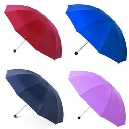 EXTRA LARGE Travel Water Proof  Compact Folding Rain Anti UV