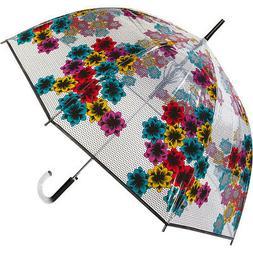 ShedRain Fashion Auto Open Bubble Stick Umbrella 2 Colors