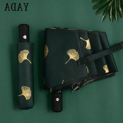YADA Fashion Ginkgo Biloba Automatic <font><b>Umbrellas</b><