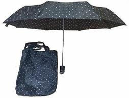 fashion polka dot black and white umbrella
