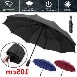 Foldable Compact Folding Automatic Umbrella Auto Open Close