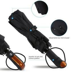 Folding Automatic Umbrella Anti-UV Sun/Rain Windproof Compac
