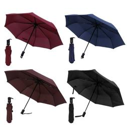 Folding Compact Umbrella Automatic Open Close Travel Sun Rai