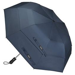 G4Free Folding Golf Umbrella 58-inch Large Windproof Double