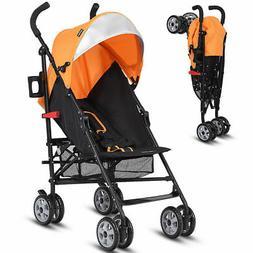 Folding Lightweight Baby Toddler Umbrella Travel Stroller w/