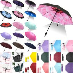 folding portable waterproof anti uv rain sun
